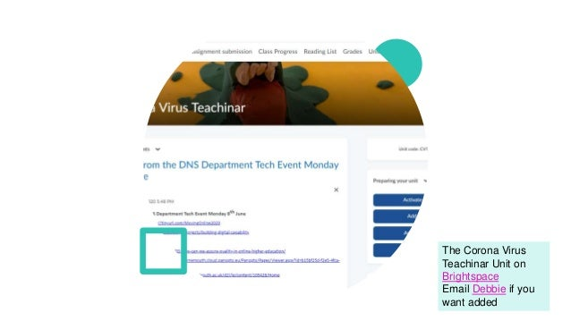 Doing Education on Screen Slide 3