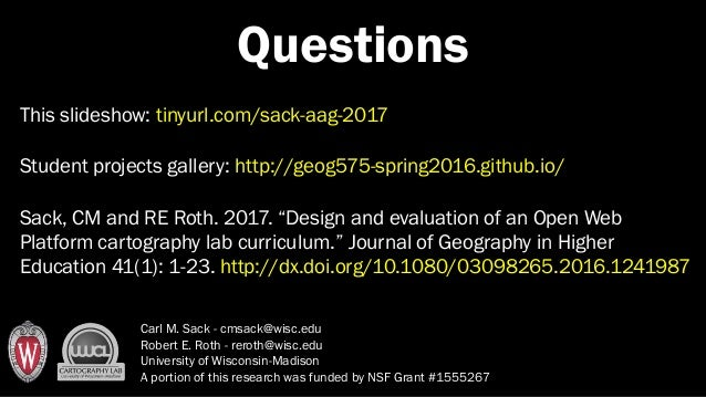 Teaching open web mapping aag 2017 19 freerunsca Images
