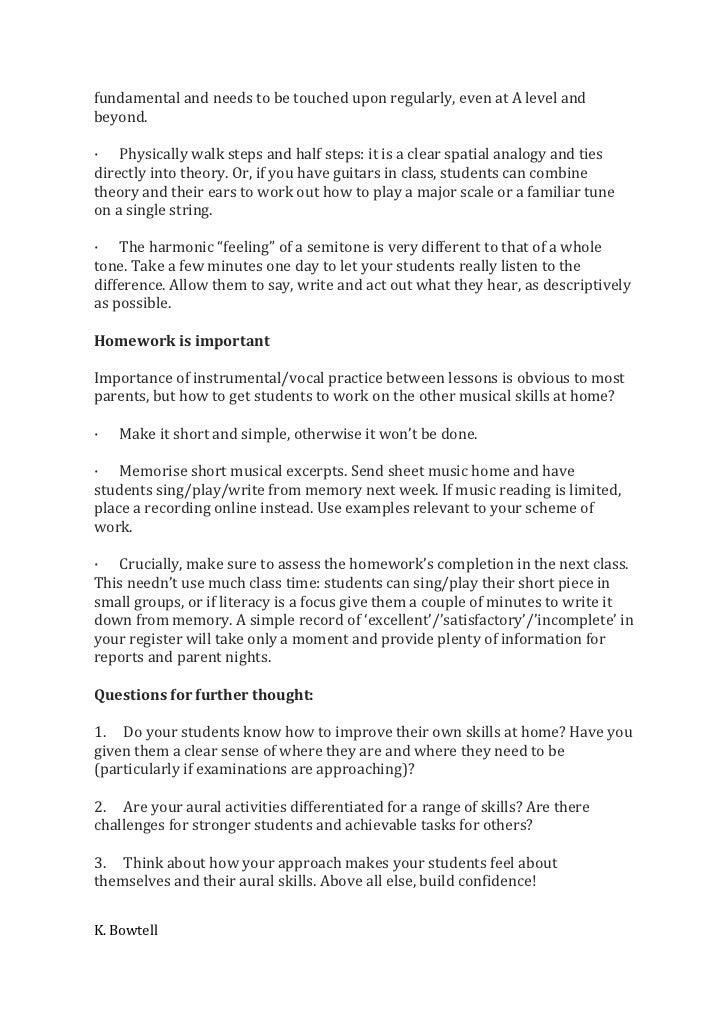 Alternatives To Homework  A Chart For Teachers wikiHow
