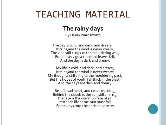 teacing poetry for senior high school students