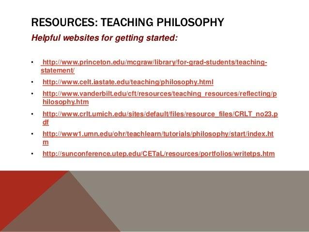 Teaching portfolio
