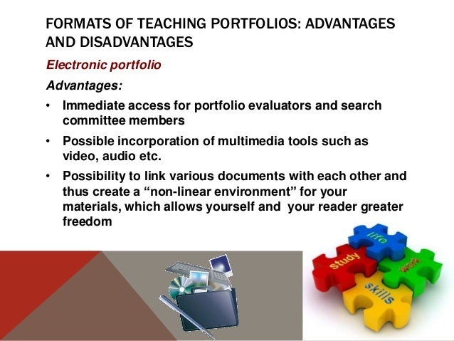 advantages and disadvantages to teaching Videos must be used as a facet of instruction along with other resource material available to you for teaching a particular topic as educators, our aim is to get.