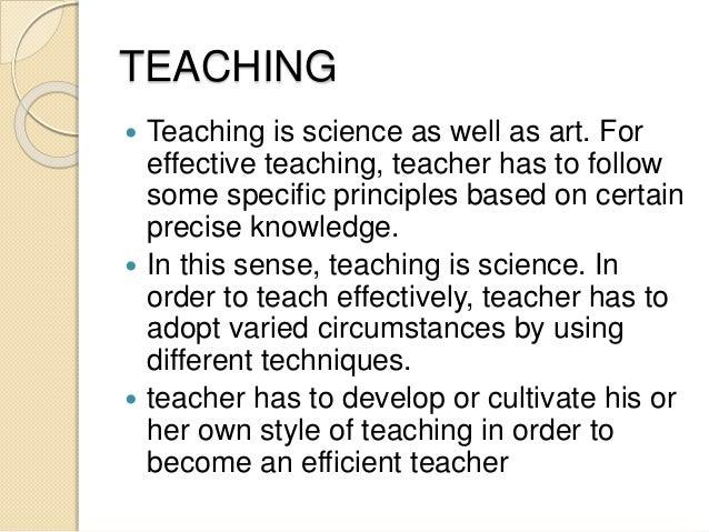 Teaching ppt