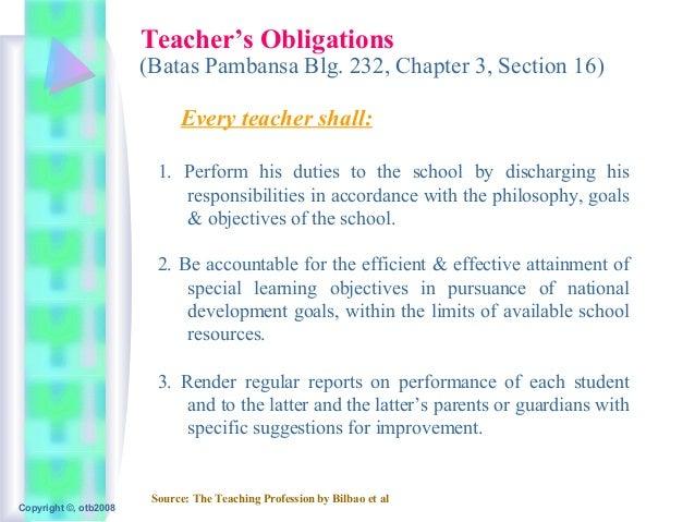 Teachingprofession