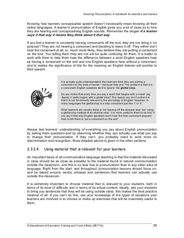 teaching practice a handbook for teachers in training