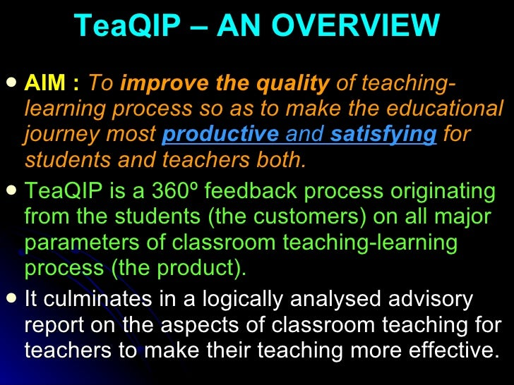 improving quality of teaching and learning Top 5 ways to improve teacher quality patrick riccards is the author of eduflack, a blog focused on the effective communication of education reform currently ceo of exemplar strategic communications, an education advocacy agency, patrick's work as a senior advisor with the national reading panel (1998-2002) and project director for the us department of education's partnership for.