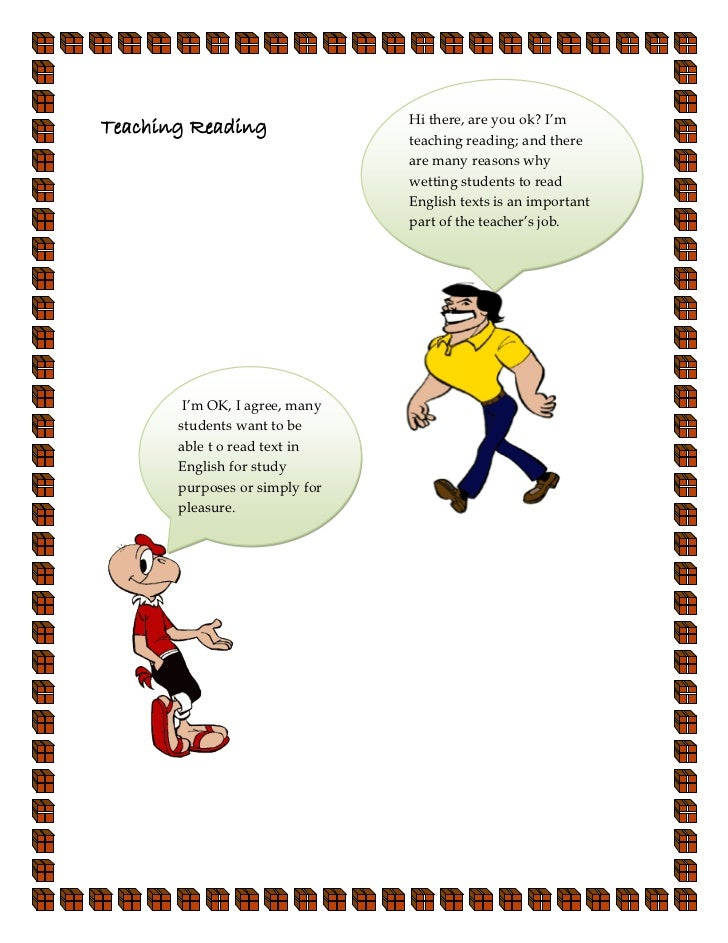 Hi there, are you ok? I'mTeaching Reading                                teaching reading; and there                      ...