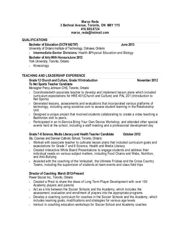Custom resume writing in toronto