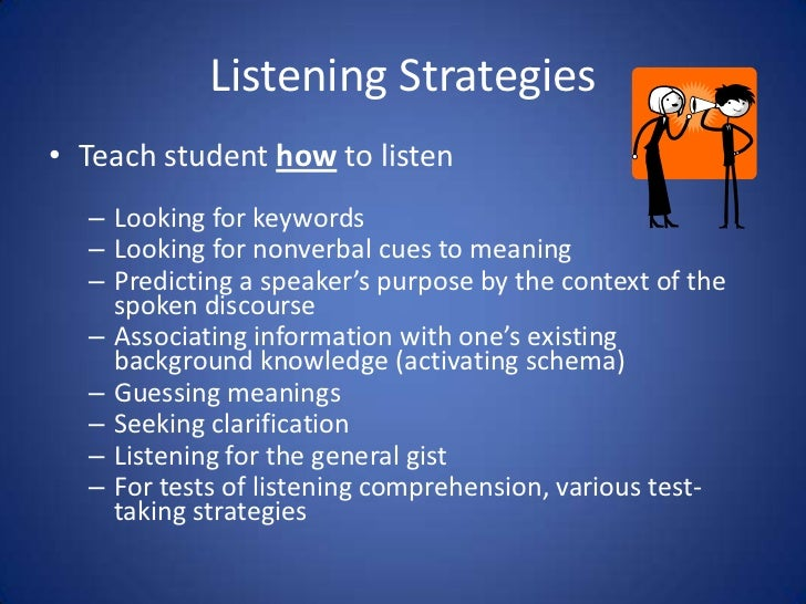 Active listening activities for college students