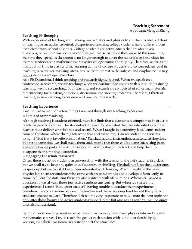 Preparing your personal statement for graduate school