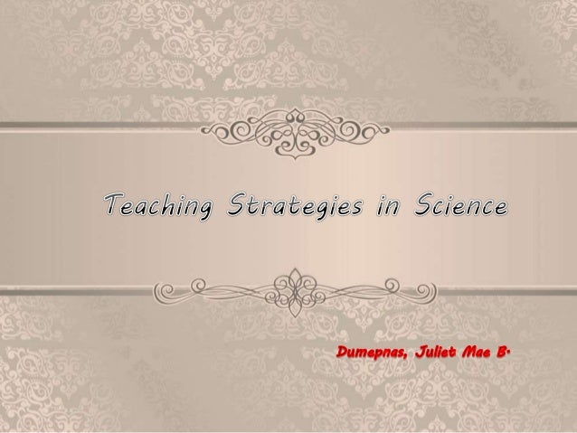 - Students learn by inquiring and arrive at an understanding of concepts by themselves and the responsibility for learning...