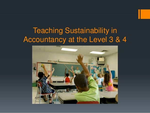 The accounting perspective on Sustainability education https://www.youtube.com/watch?v=TWVXO tNJCK0