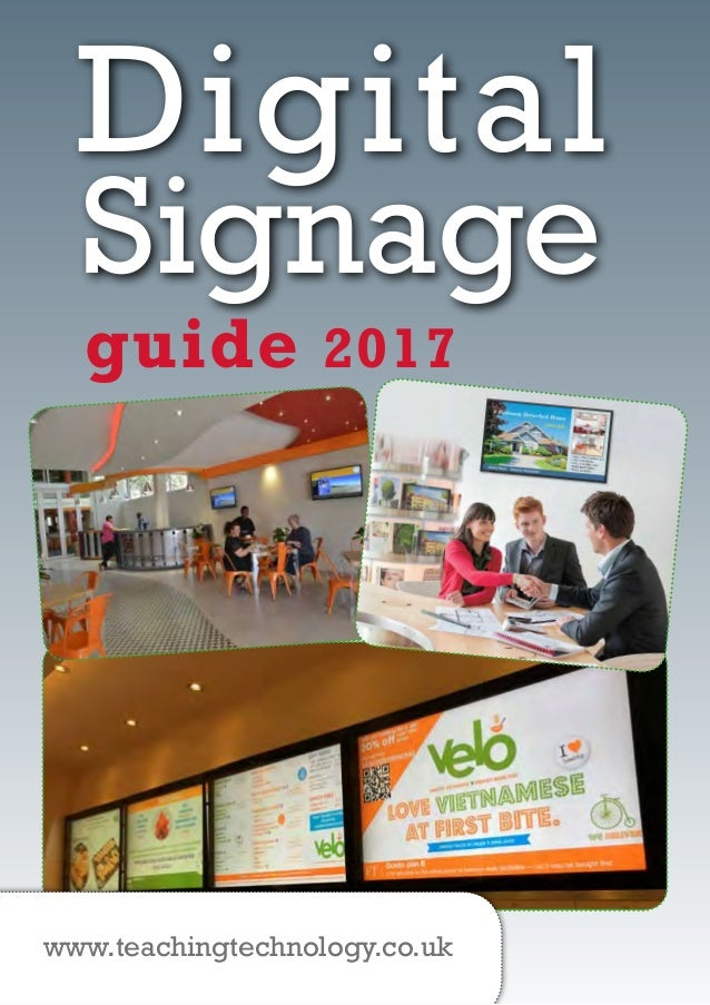 signage size guide