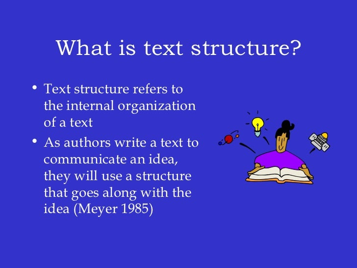 The meaning in text