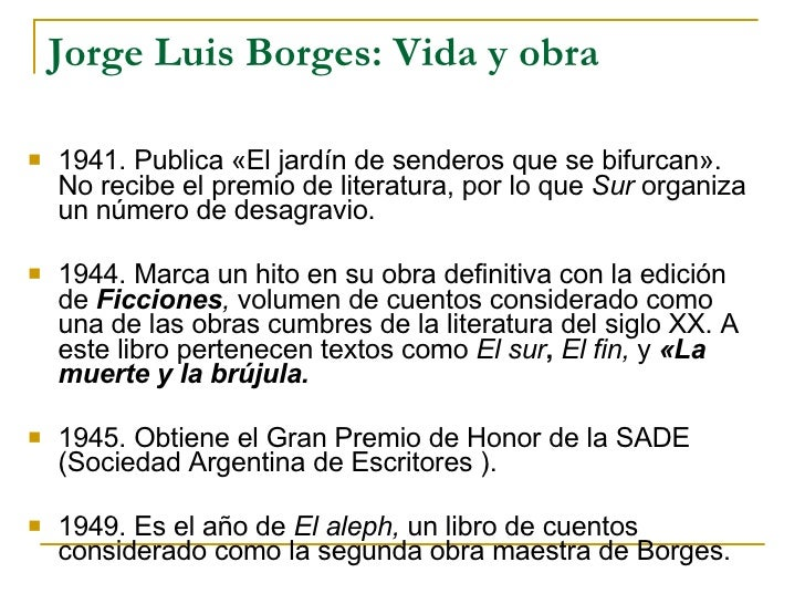 Teaching the book borges for Borges el jardin