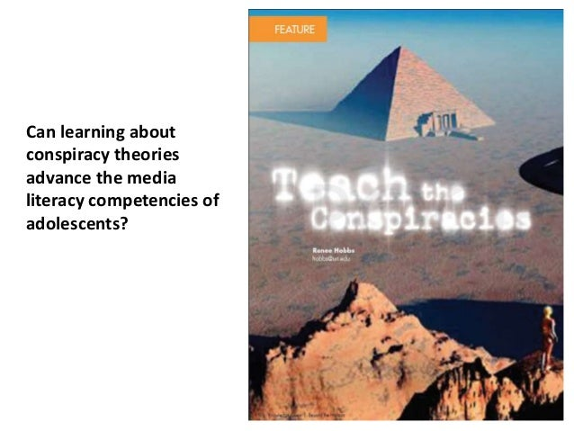 Can learning about conspiracy theories advance the media literacy competencies of adolescents?
