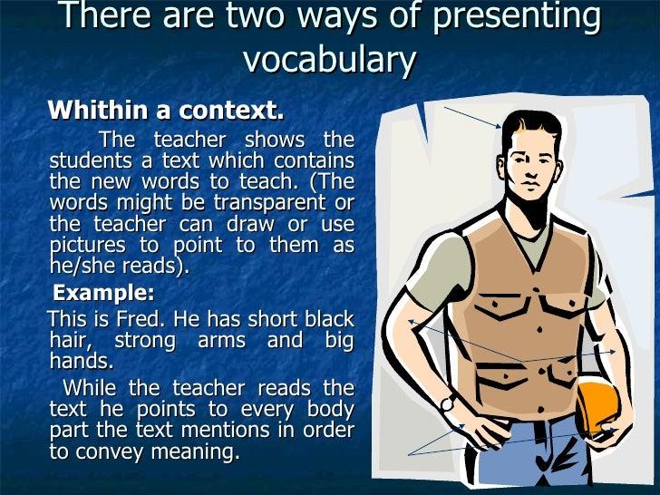 Teaching Vocabulary[1] Slide 3