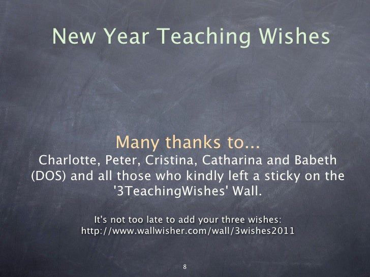 new year teaching wishes