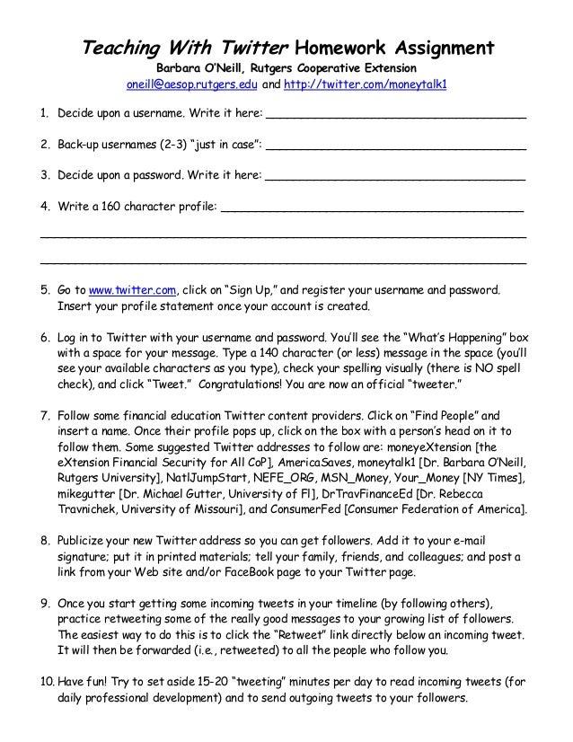 Twitter Homework Assignment 01-11