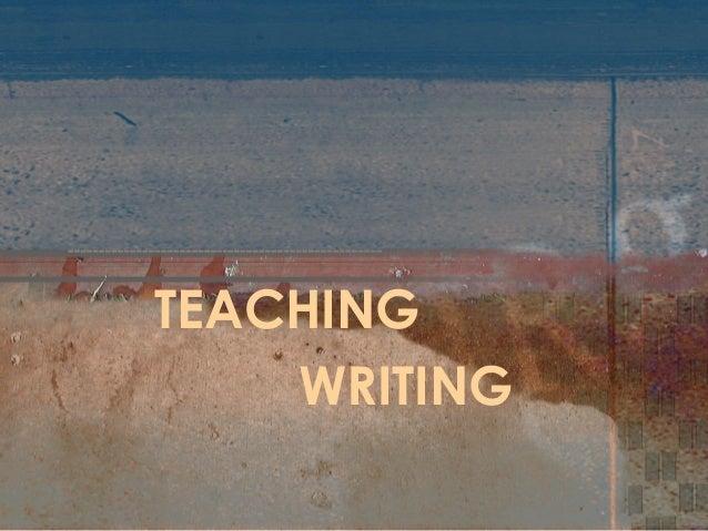 TEACHINGWRITING