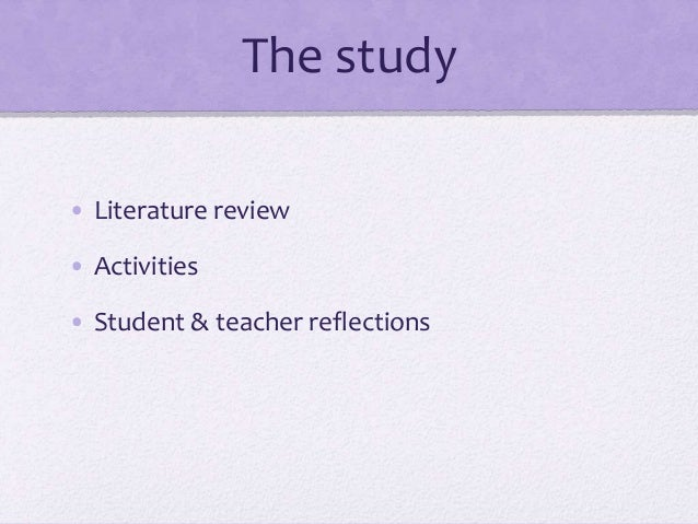 Diversity education implication in literature review teaching