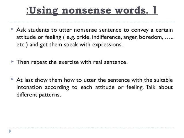 teach english intonation
