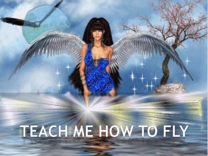 TEACH ME HOW TO FLY<br />