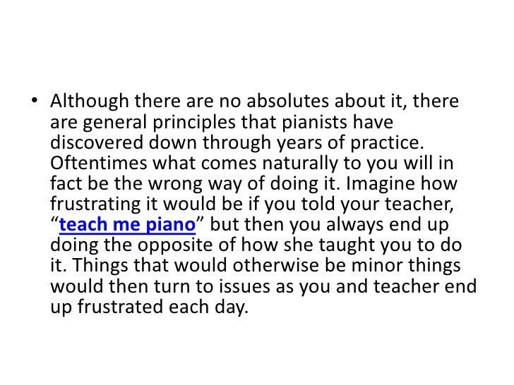 Teach Yourself Piano Slide 3