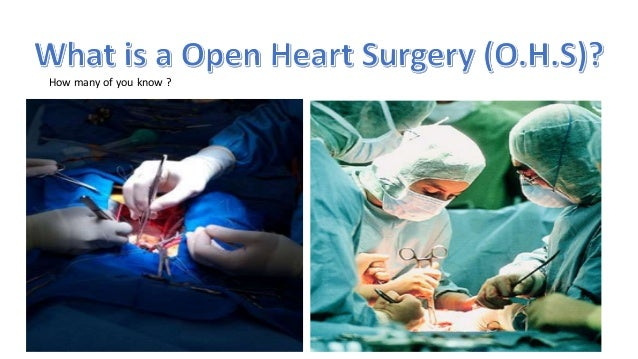 how to do a heart surgery