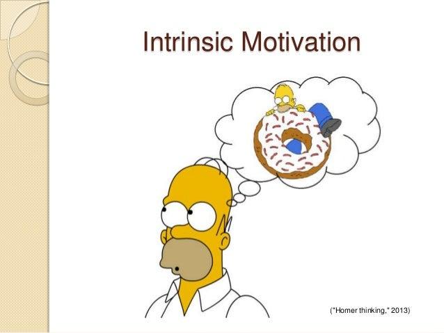 "Intrinsic Motivation (""Homer thinking,"" 2013)"