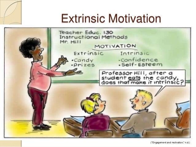 "Extrinsic Motivation (""Engagement and motivation,"" n.d.)"