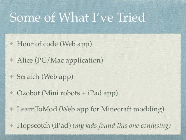 Teach your kids to code Slide 2