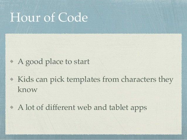 Teach your kids to code Slide 3
