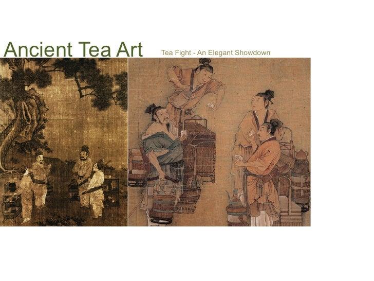 Ancient Tea Art   Tea Fight - An Elegant Showdown