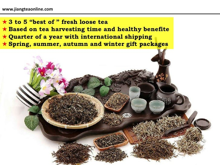 Tea friend-seasonal package Slide 2