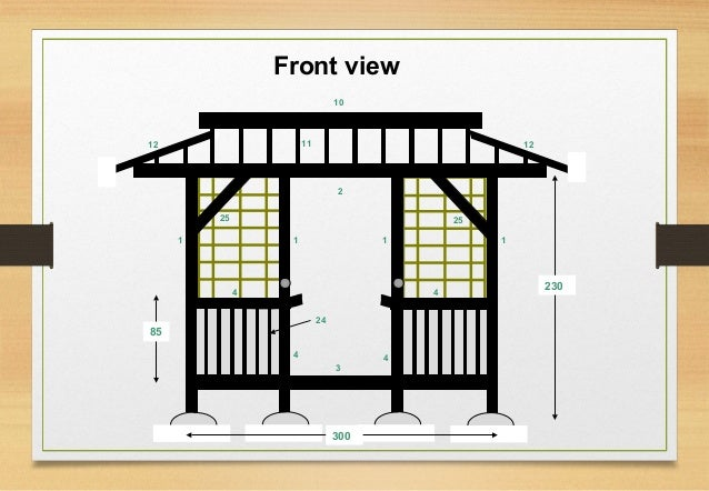 Japanese teahouse plans eric vanderburg for Japanese tea house design small
