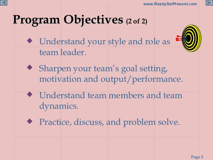 presentation team building The process improvement team team building in the work place when building a team,  detailed in the total quality information and training presentation.