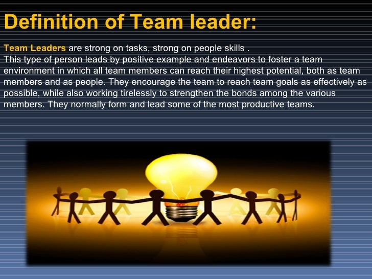 Team Creating And Implementing Visions