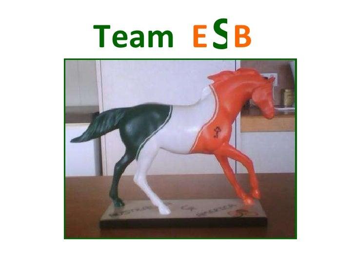 Team  E  B   S