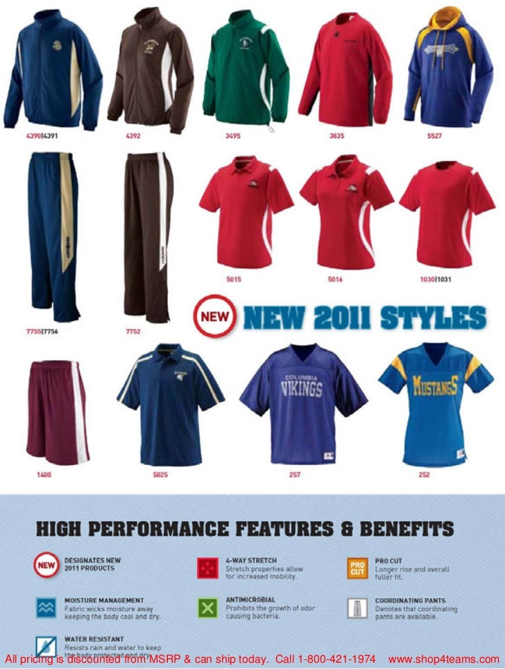 All pricing is discounted from MSRP & can ship today. Call 1-800-421-1974   www.shop4teams.com