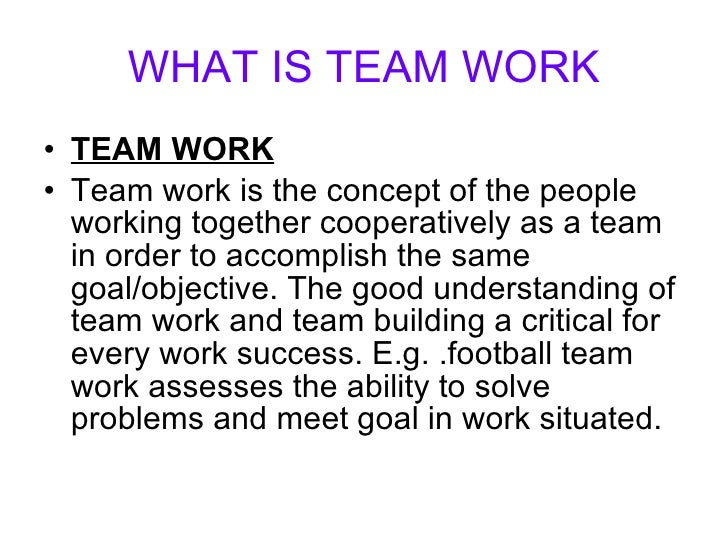 P1 describe different types of team and the benefits of teams for an organisation