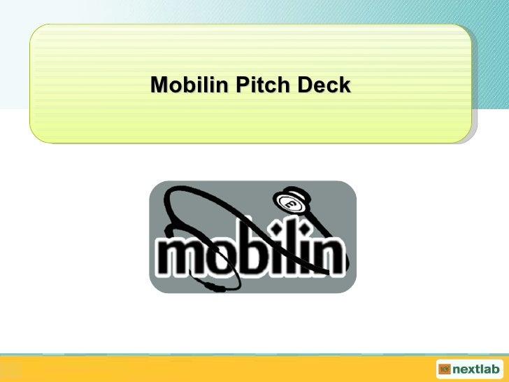 Mobilin Pitch Deck