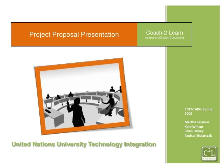 Project Proposal Presentation<br />Coach-2-Learn<br />Instructional Design Consultants<br />EDTEC 684: Spring 2009<br />Ma...