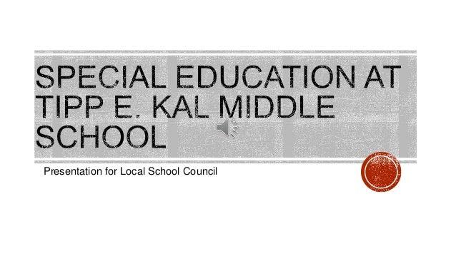Presentation for Local School Council