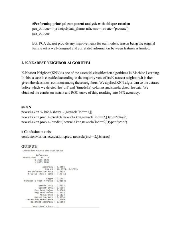 Multivariate Data Analysis Project Report
