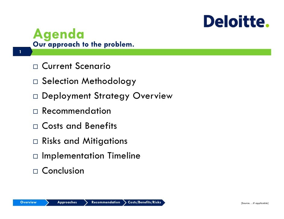 2009 Deloitte Tax Case Study Competition Case Study ...