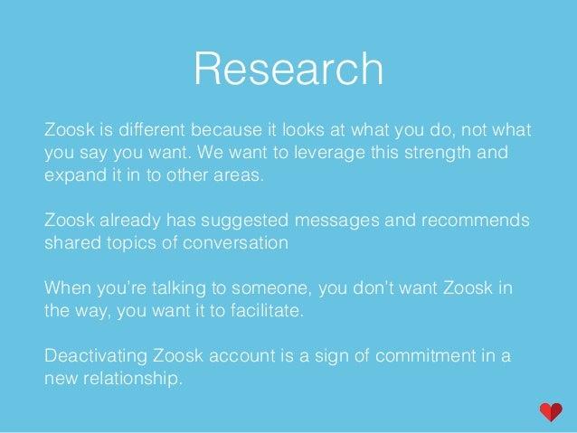zoosk new account