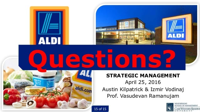 an analysis of aldis strategy Market entry strategy of aldi and lidl plans for expansion  piece of work is one of many that can be found in our as and a level case studies and analysis section.
