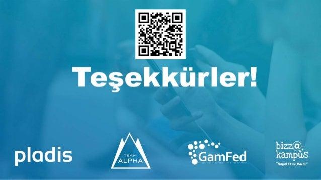 2.Gamification Hackathon - Yıldız Holding - Pladis / Team Alpha Bizza Kampüs