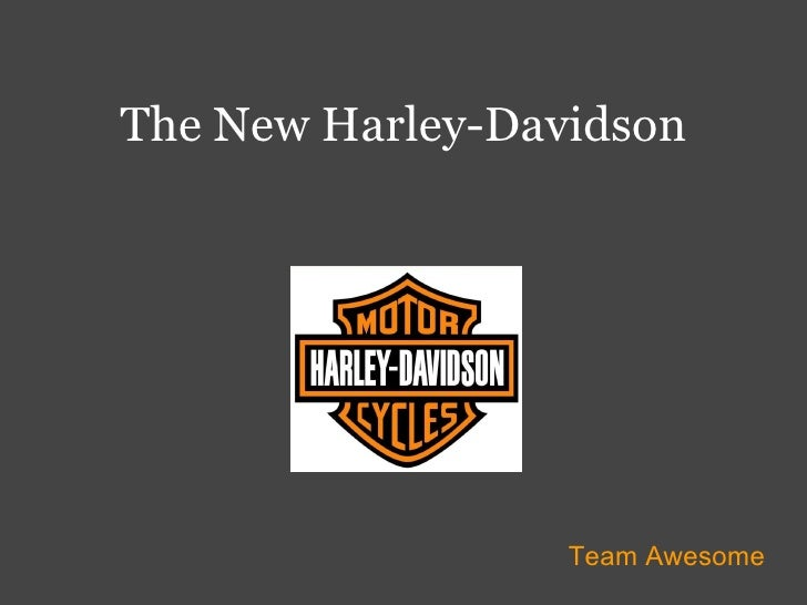 The New Harley-Davidson Team Awesome